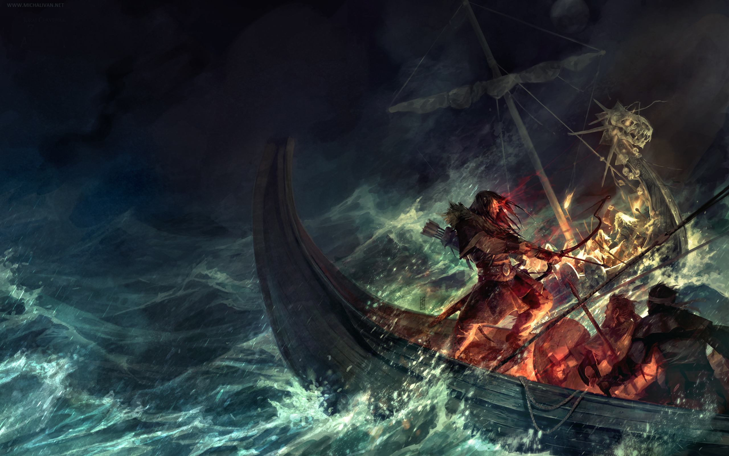 14 Viking HD Wallpapers Backgrounds 2560x1600