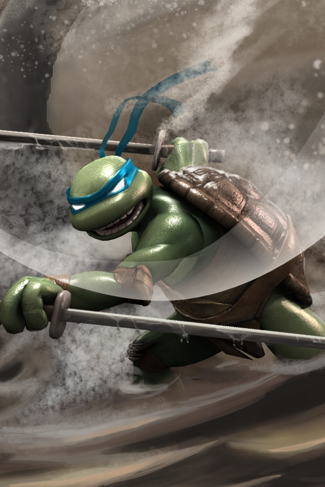 Ninja Turtles iPhone 4 Wallpaper and iPhone 4S Wallpaper 640x960