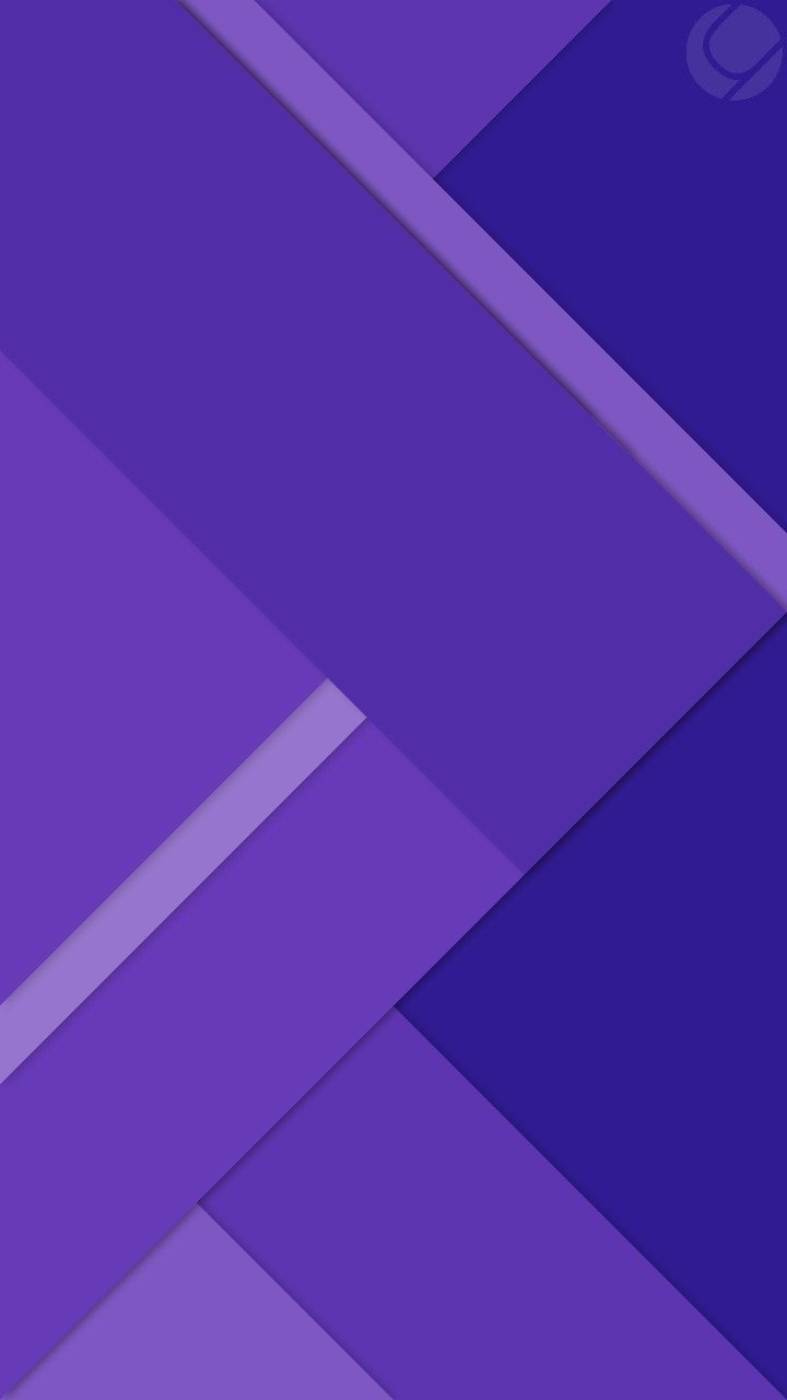 Purple and Blue Geometric Wallpaper With images Geometric 720x1280