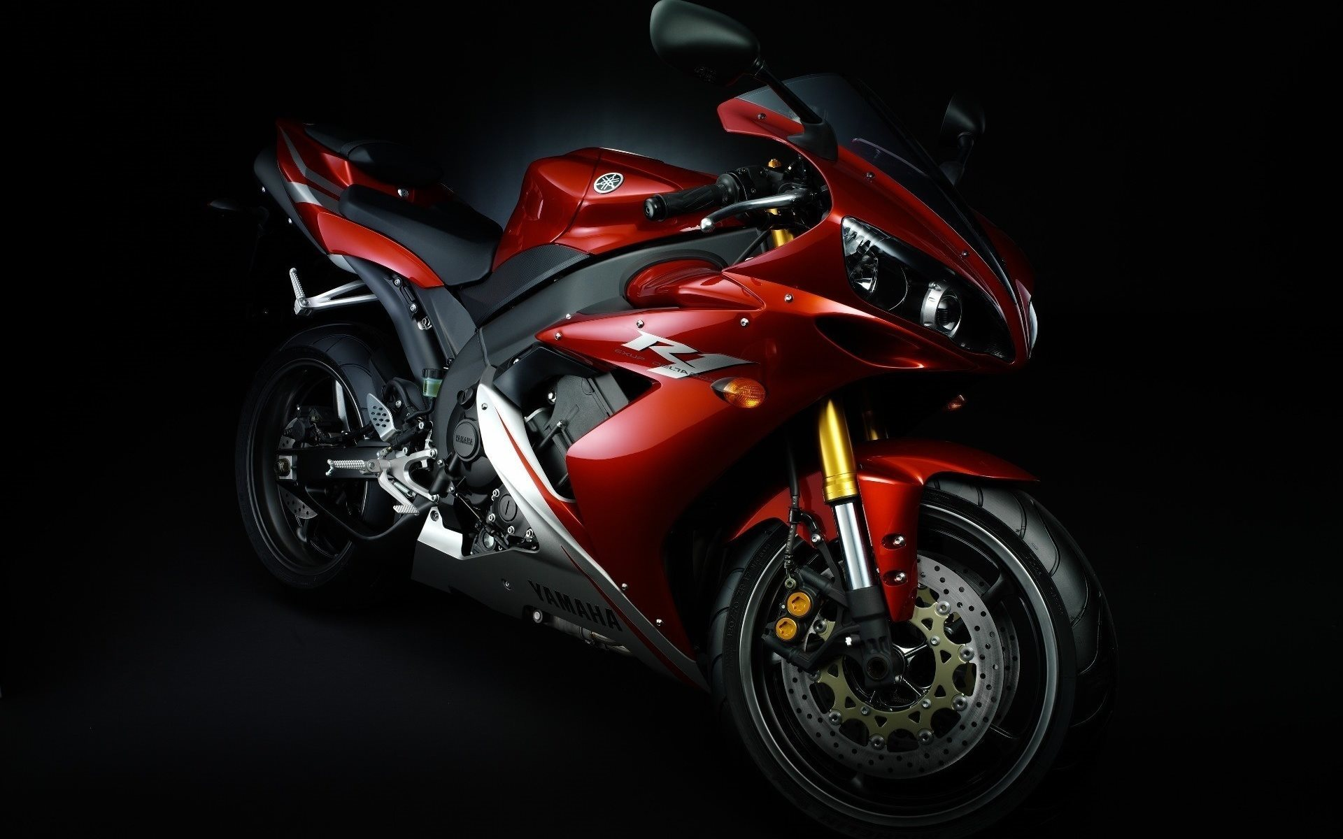 yamaha yzf r1 sportbikes darkness japanese motorcycles 3868 1920x1200