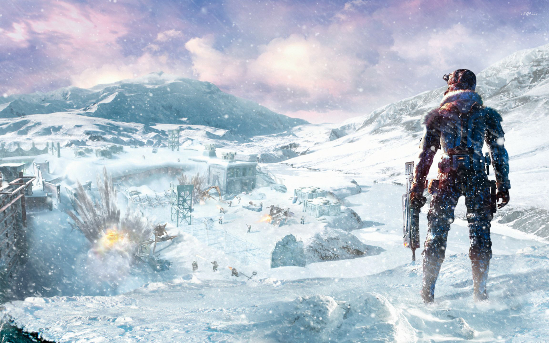 Lost Planet 2 wallpaper   Game wallpapers   14851 1366x768