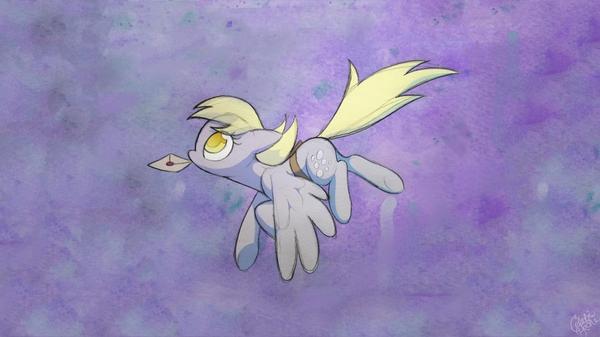 my little pony friendship is magic derpy Knowledge Magic HD Wallpaper 600x337