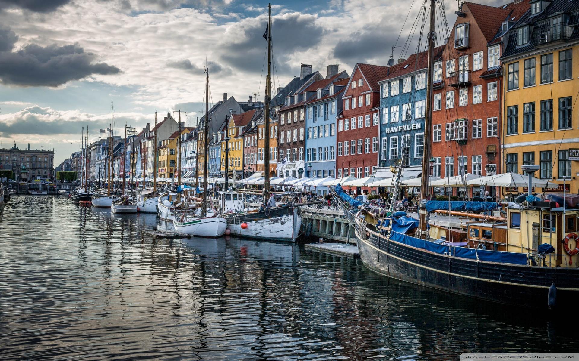 Copenhagen Denmark 4K HD Desktop Wallpaper for 4K Ultra HD TV 1920x1200