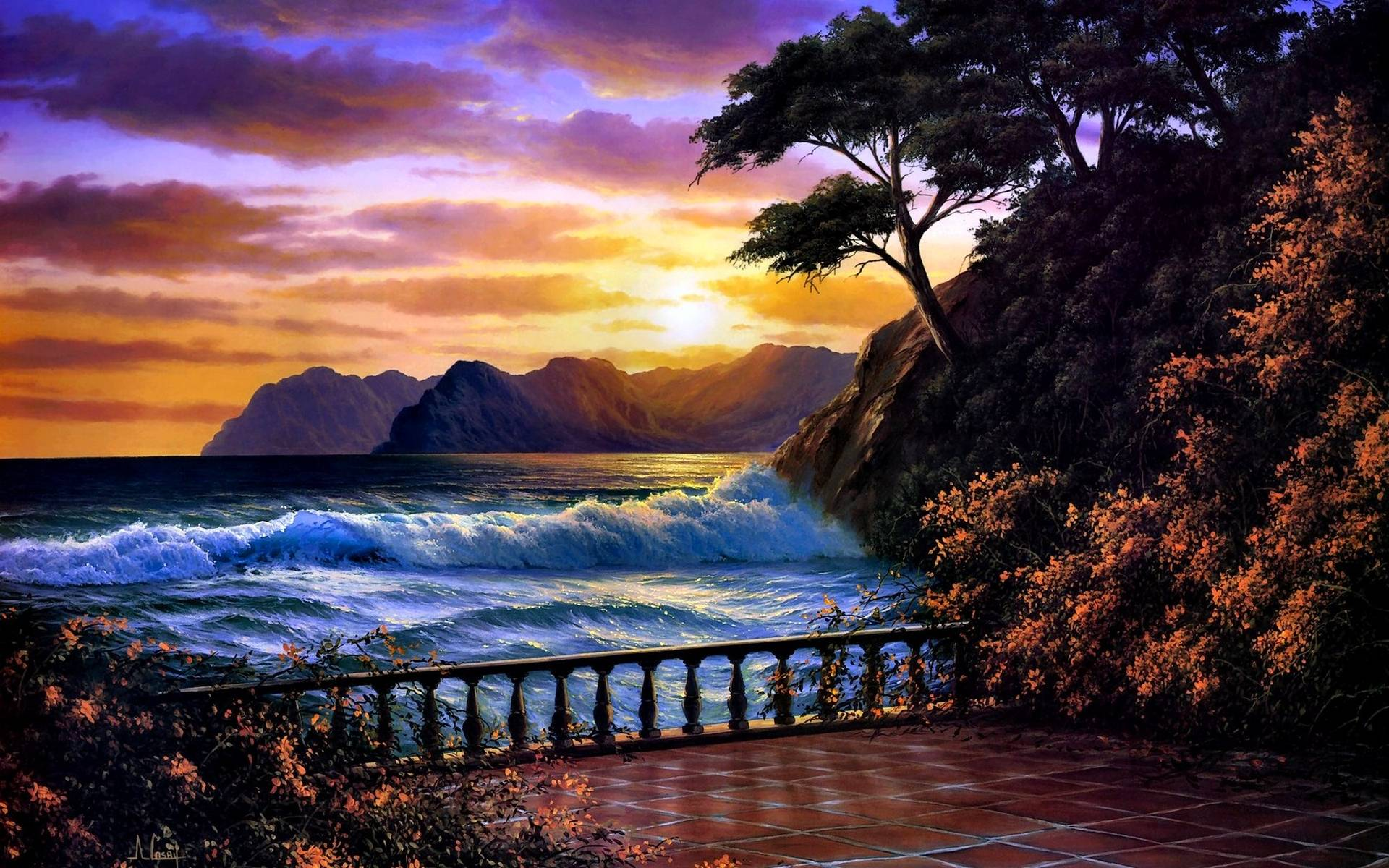 Beautiful Sunset Wallpapers 1920x1200