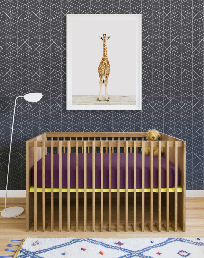 Wallpaper Pairings Baby Giraffe Makelike The Animal Print Shop 800x1011