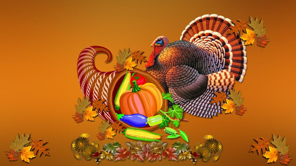 Thanksgiving desktop wallpaper   SF Wallpaper 1024x576