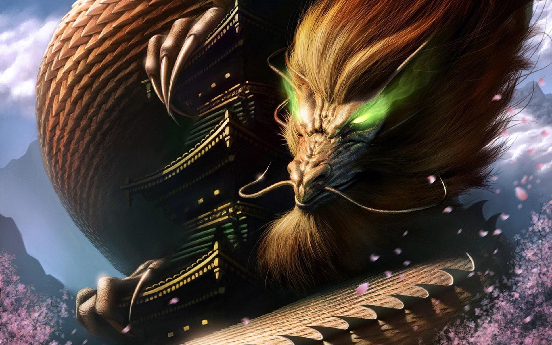 44 Chinese Dragon Wallpaper Desktop On Wallpapersafari