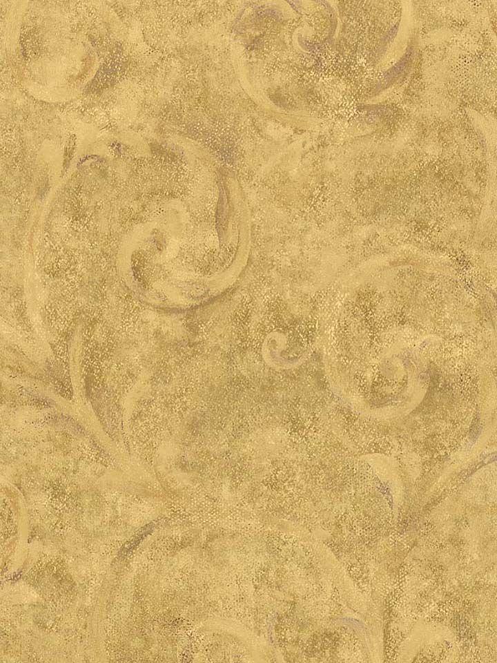 tuscanpatterns FORMAL FAUX GOLD TUSCANY WALLPAPER   305A 304E 720x960