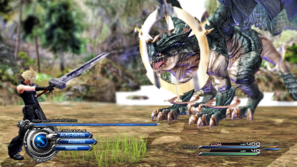 Final Fantasy VII Total HD Remake FanArt by riadyawan 1024x576