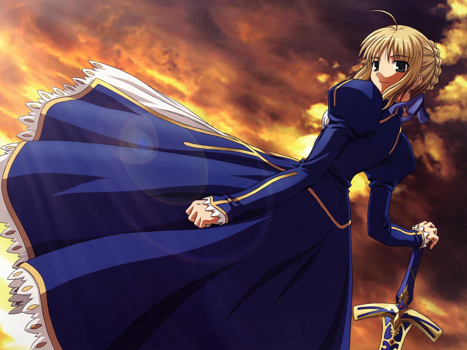 fatestay night saber tagme konachancom   Konachancom Anime 1600x1200