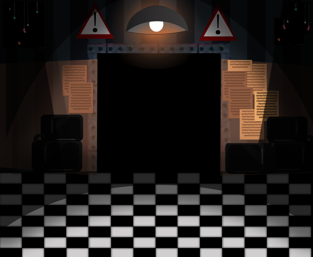FNAF2 Office Background without desk by Charlotte FairyZ on 1024x843