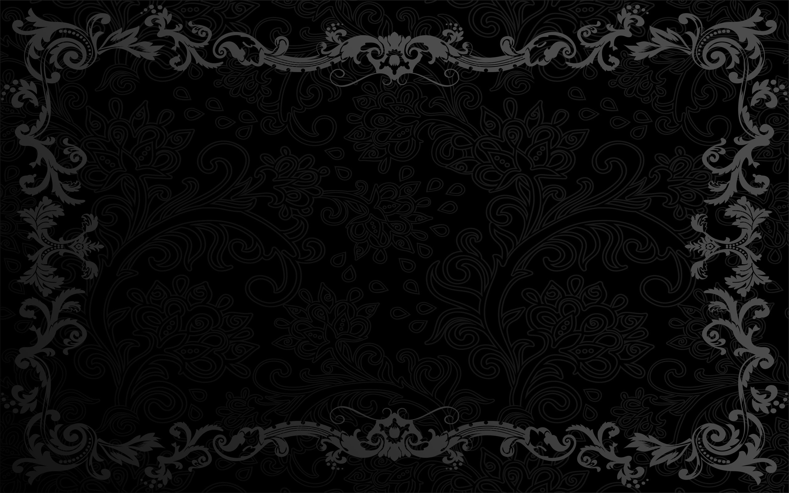 52 Black Backgrounds For Mac and Desktop Machines 2560x1600