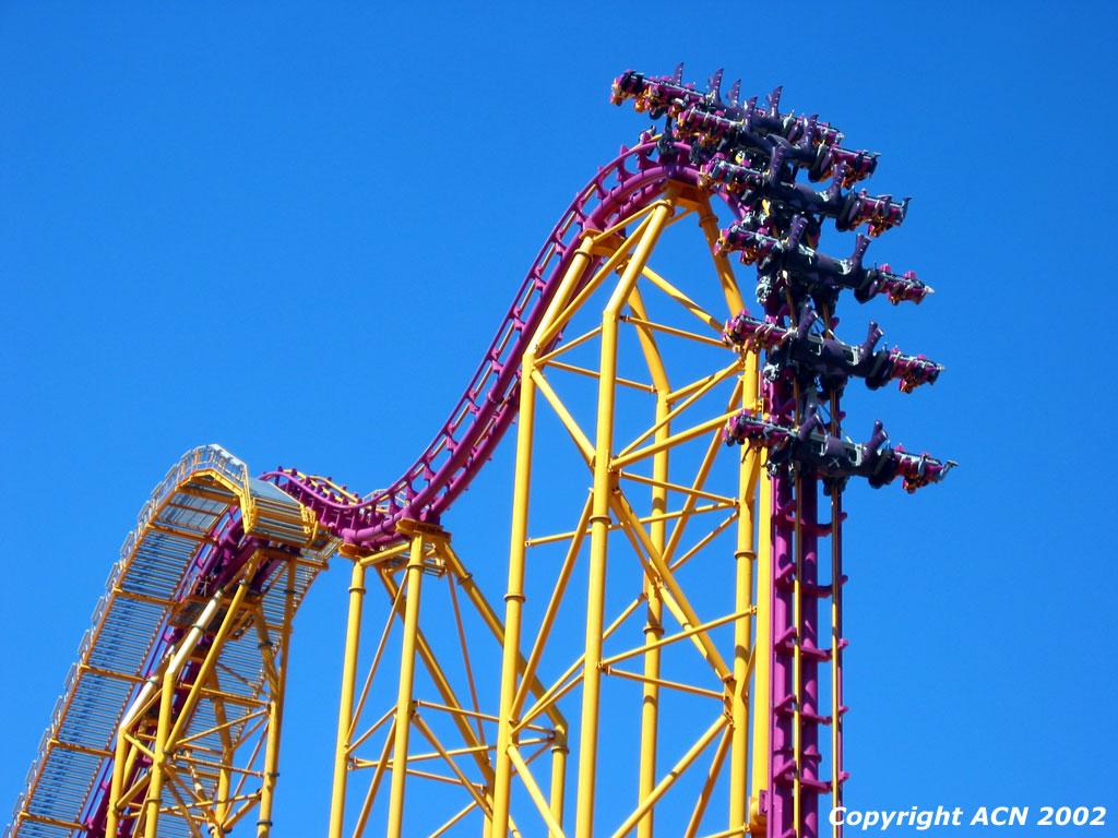 Six Flags Magic Mountain X x oct5jpg Roller Coaster Photos 1024x768