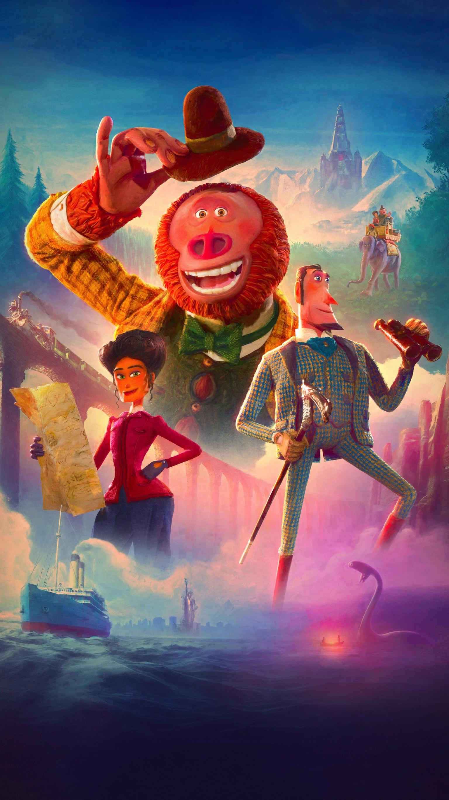 Missing Link 2019 Phone Wallpaper Moviemania 1536x2732