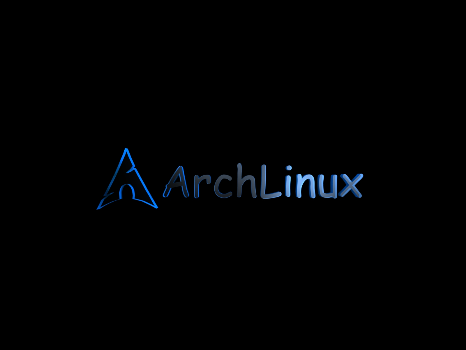 arch linux wallpaper black - photo #9