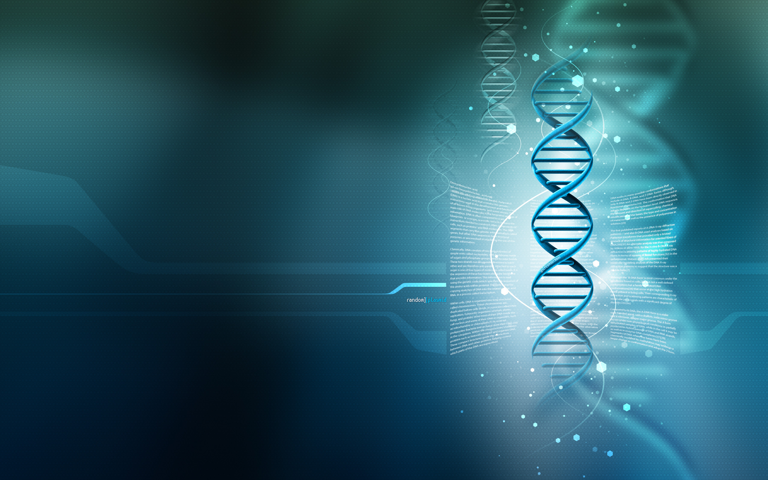 67 Hd Dna Wallpapers on WallpaperPlay 2560x1600