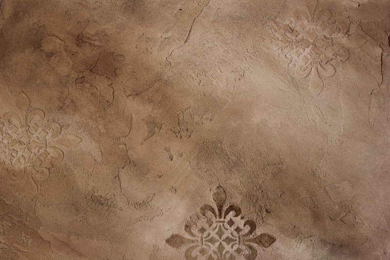 old world distressed plaster with raised 800x533