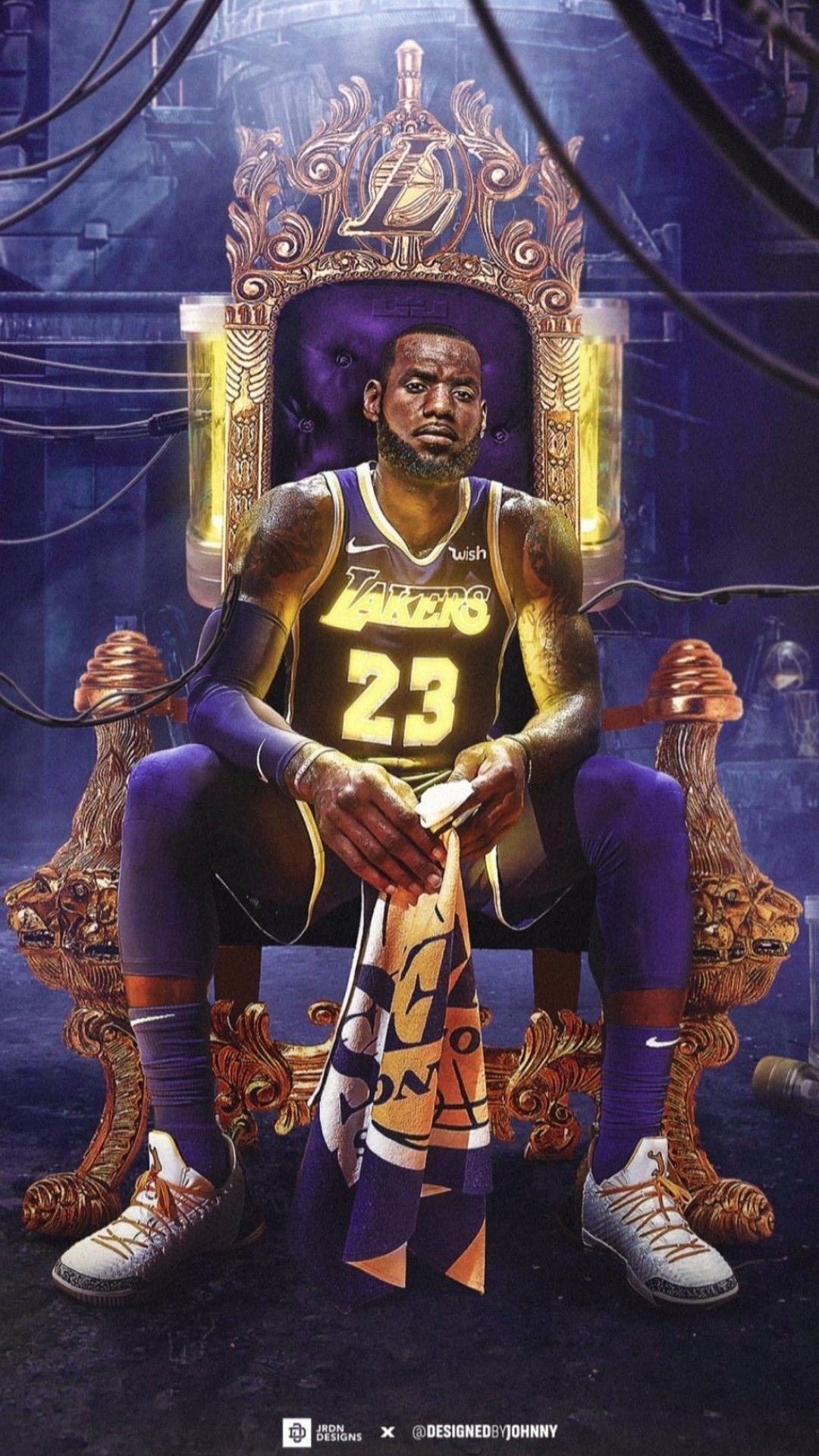 LeBron James wallpaper nba LeBron James wallpaper in 2020 1080x1920