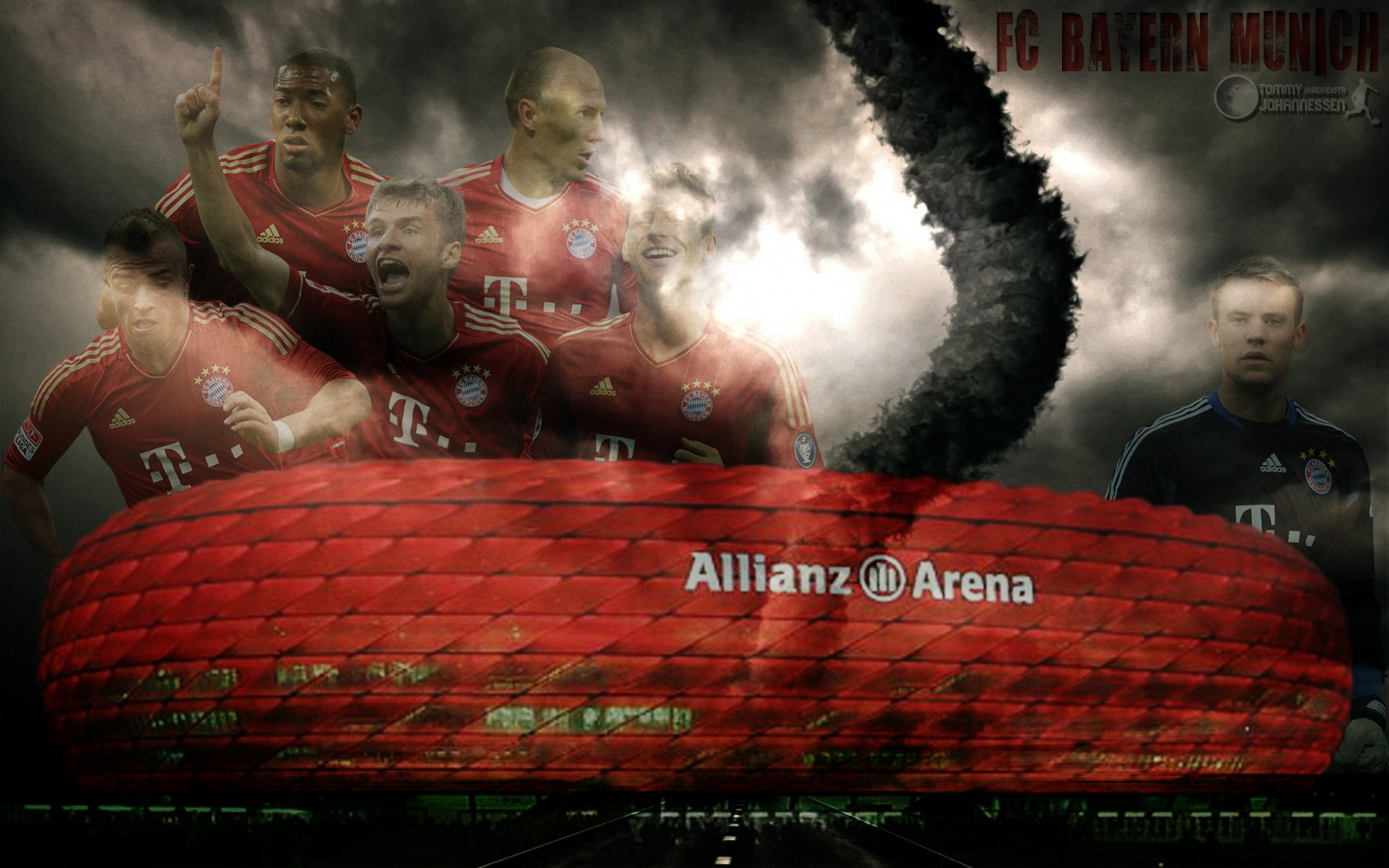 Bayern Munich Football Wallpapers 1440x900