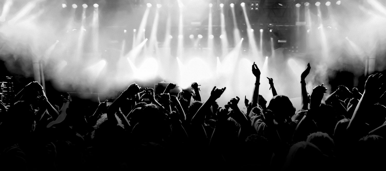 Concert stage wallpaper wallpapersafari - Concert crowd wallpaper ...
