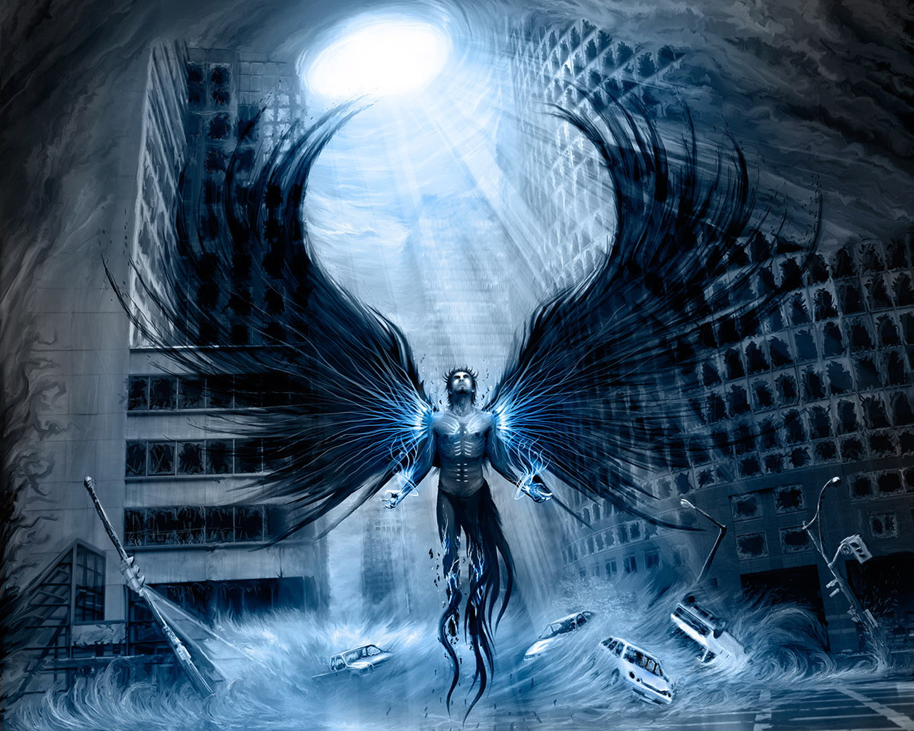Dark   Angel Wallpaper 1280x1024