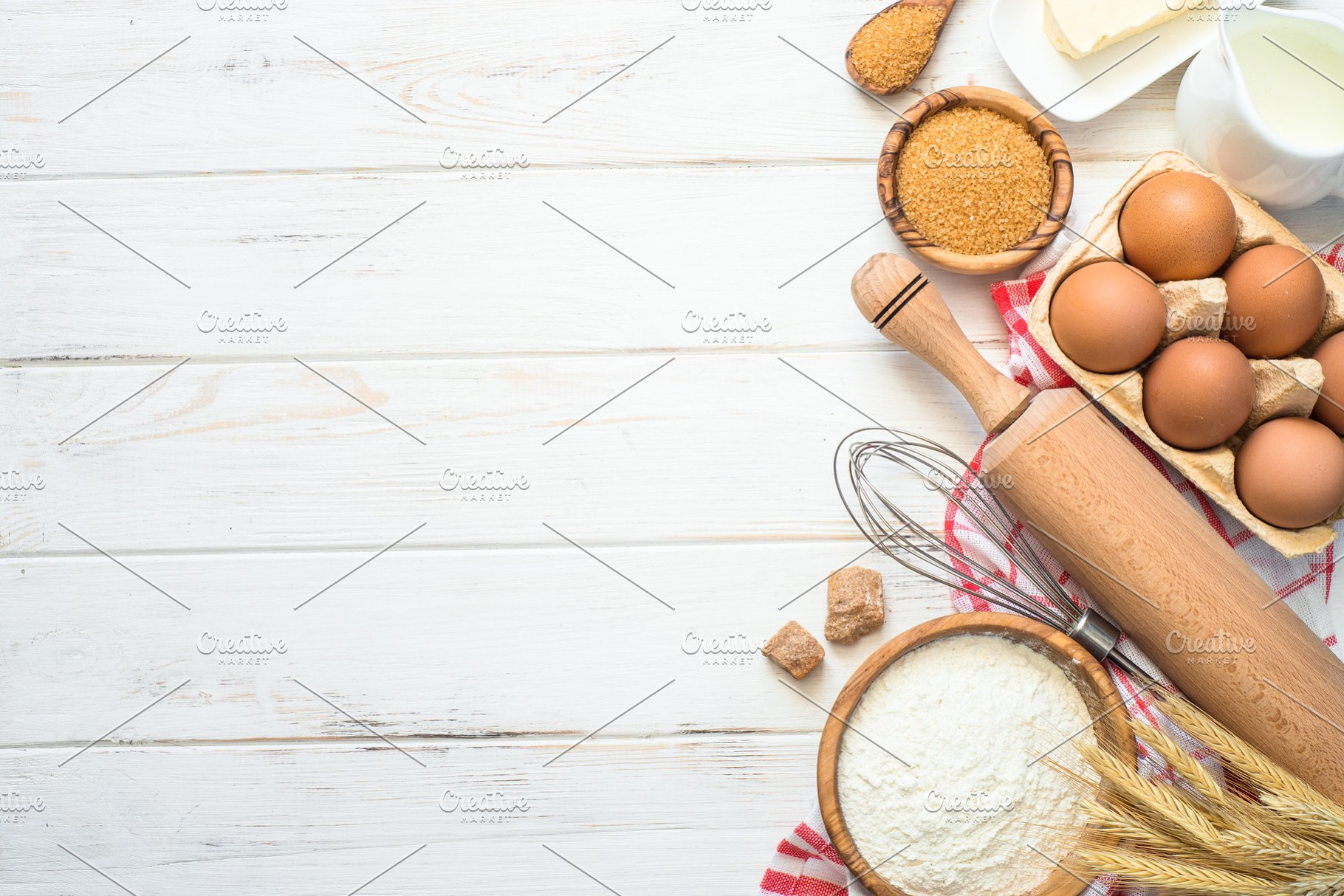 Baking background top view High Quality Food Images Creative 1820x1214
