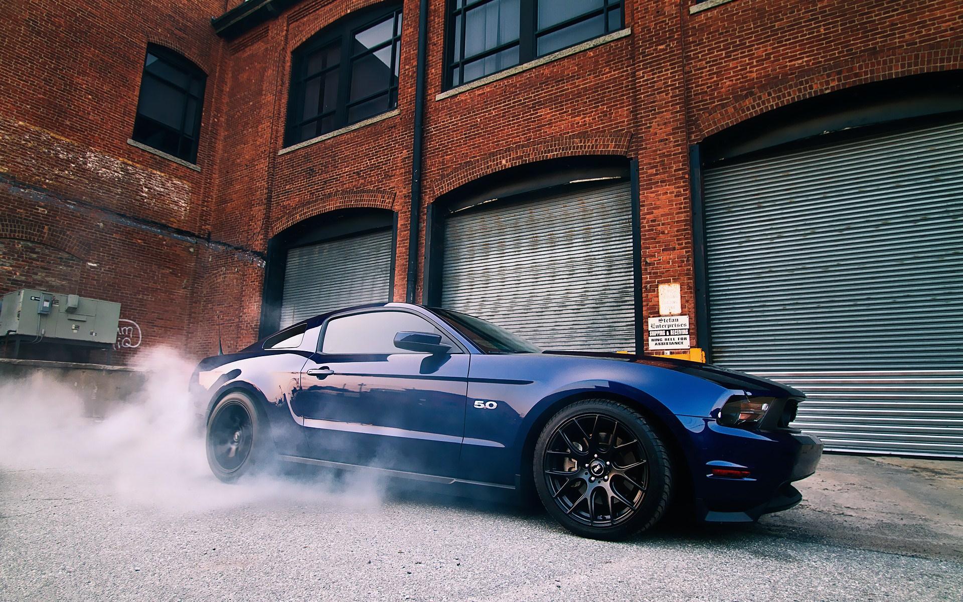 Muscle Car Burnout Wallpaper Wallpapersafari