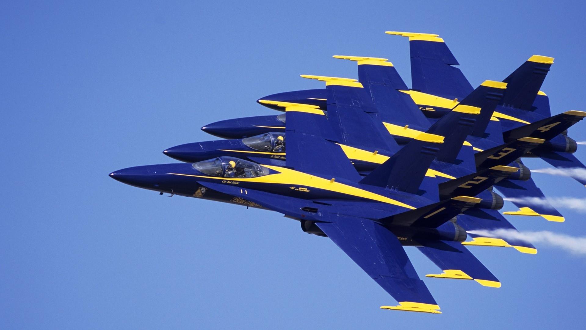 blue angels jet aircraft navy blue 1920x1080 wallpaper Vehiclehi HD 1920x1080