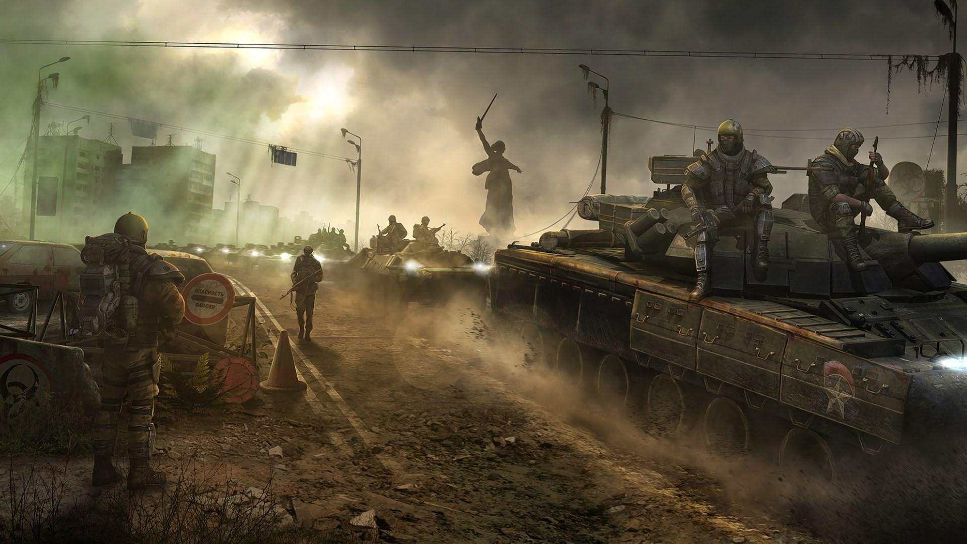 Post Apocalyptic Wallpapers April 2014 6 Survarium Apocalypse Tanks 1920x1080