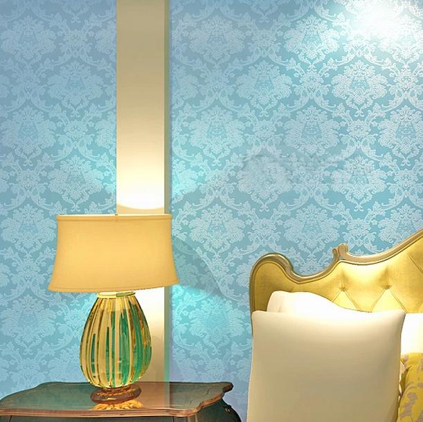 2014 New Design Damask Wallpaper Mural Waterproof for Livingroom 611x610
