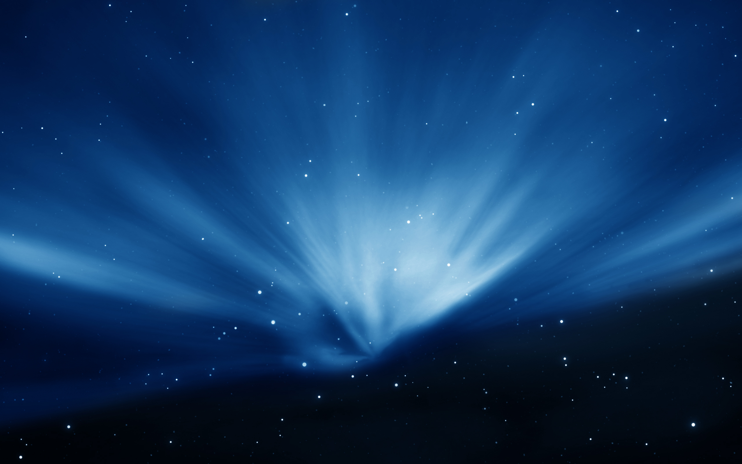 Apple Sky Blue Aurora Wallpapers HD Wallpapers 2560x1600