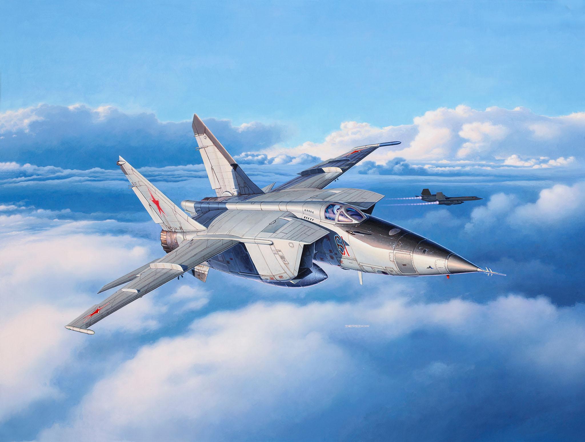 Mikoyan Gurevich MiG 25 HD Wallpaper Background Image 2048x1549