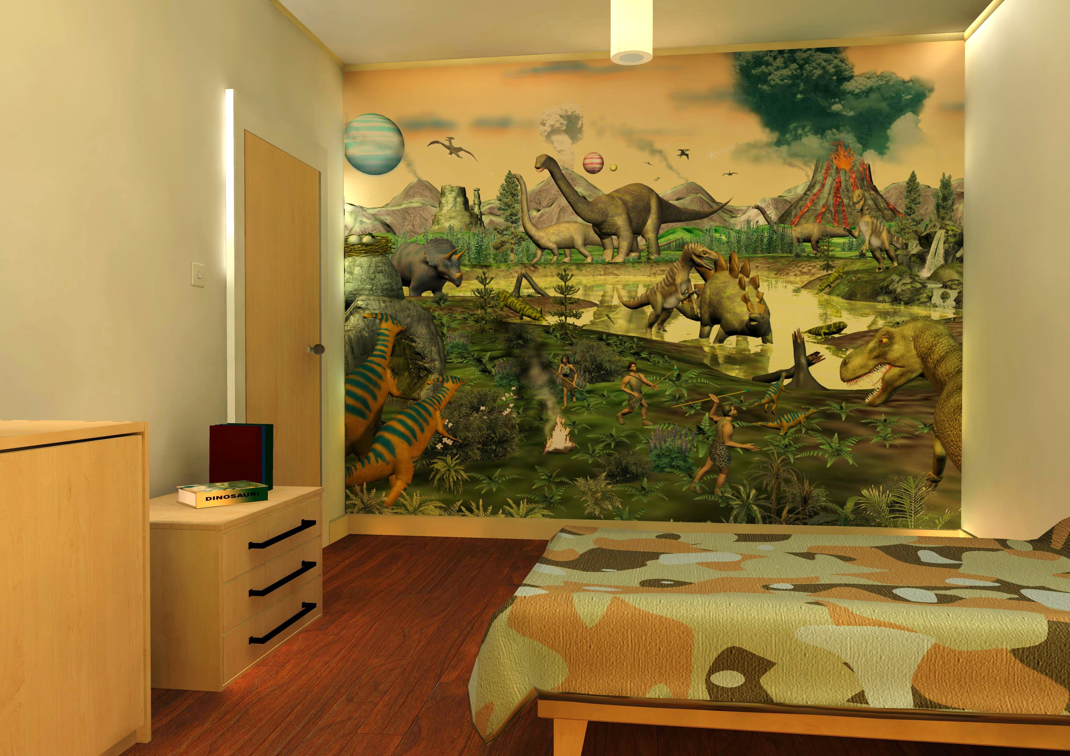 Create a bedroom for your child which is very impressive and great fun 3508x2480
