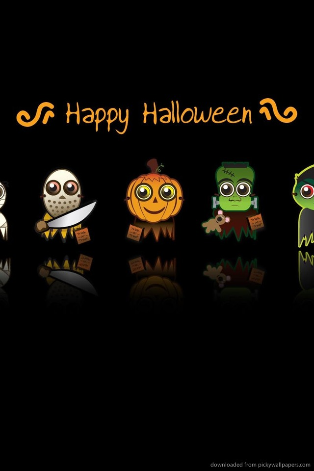 Cute Halloween iPhone Wallpaper - WallpaperSafari