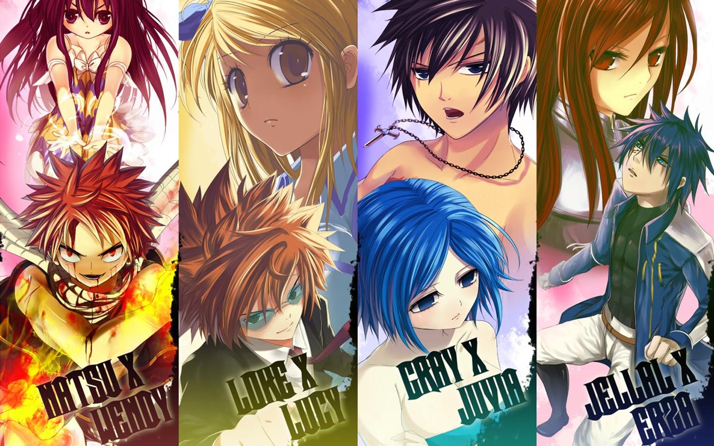 Fairy Tail Wallpaper Erza And Natsu PC Fairy Tail Wallpaper Erza