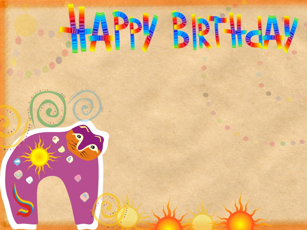 Happy Birthday backgrounds wallpapers download 1024x768