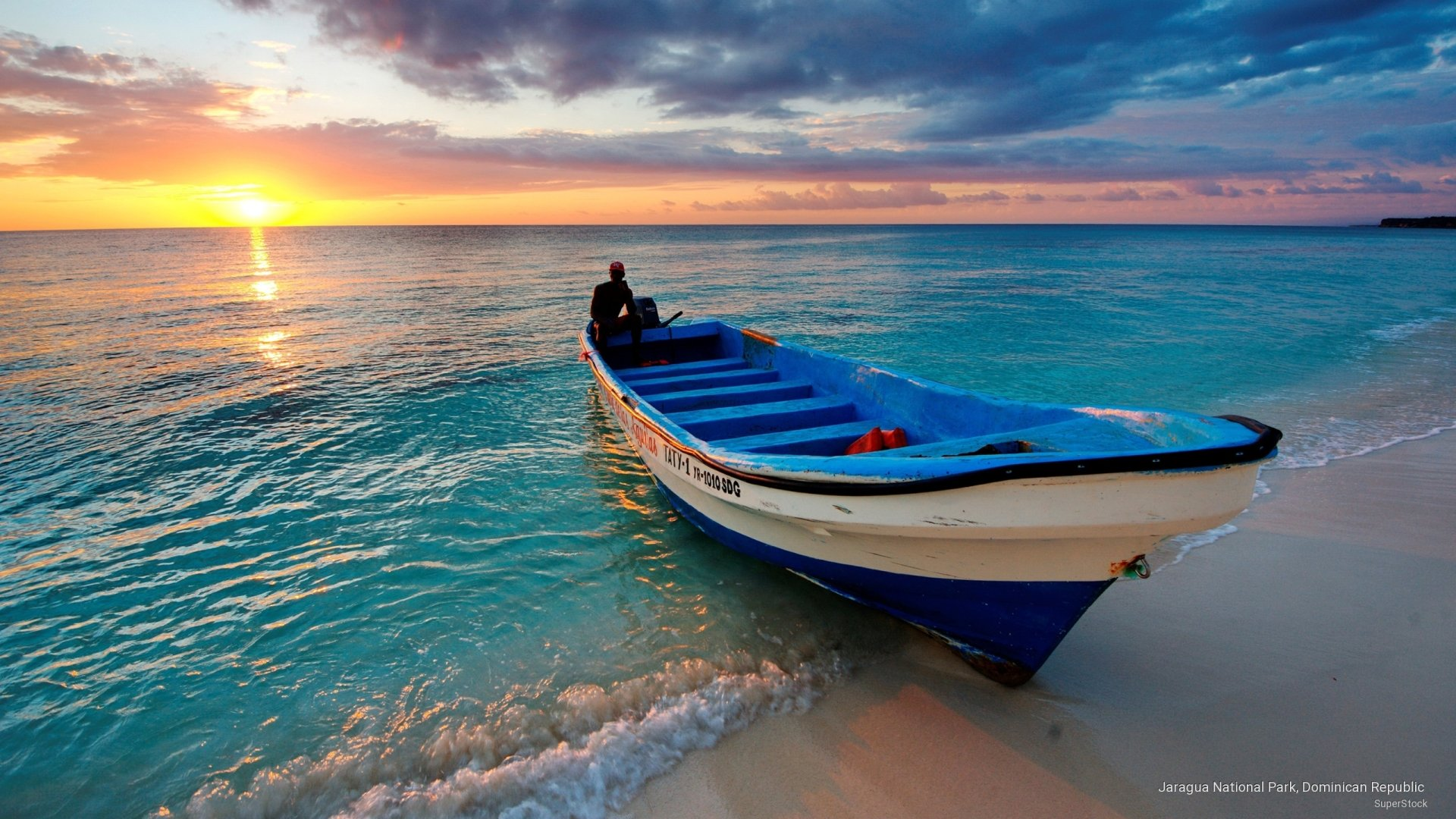 Boat at Sunset HD Wallpaper Background Image 2560x1440 1920x1080
