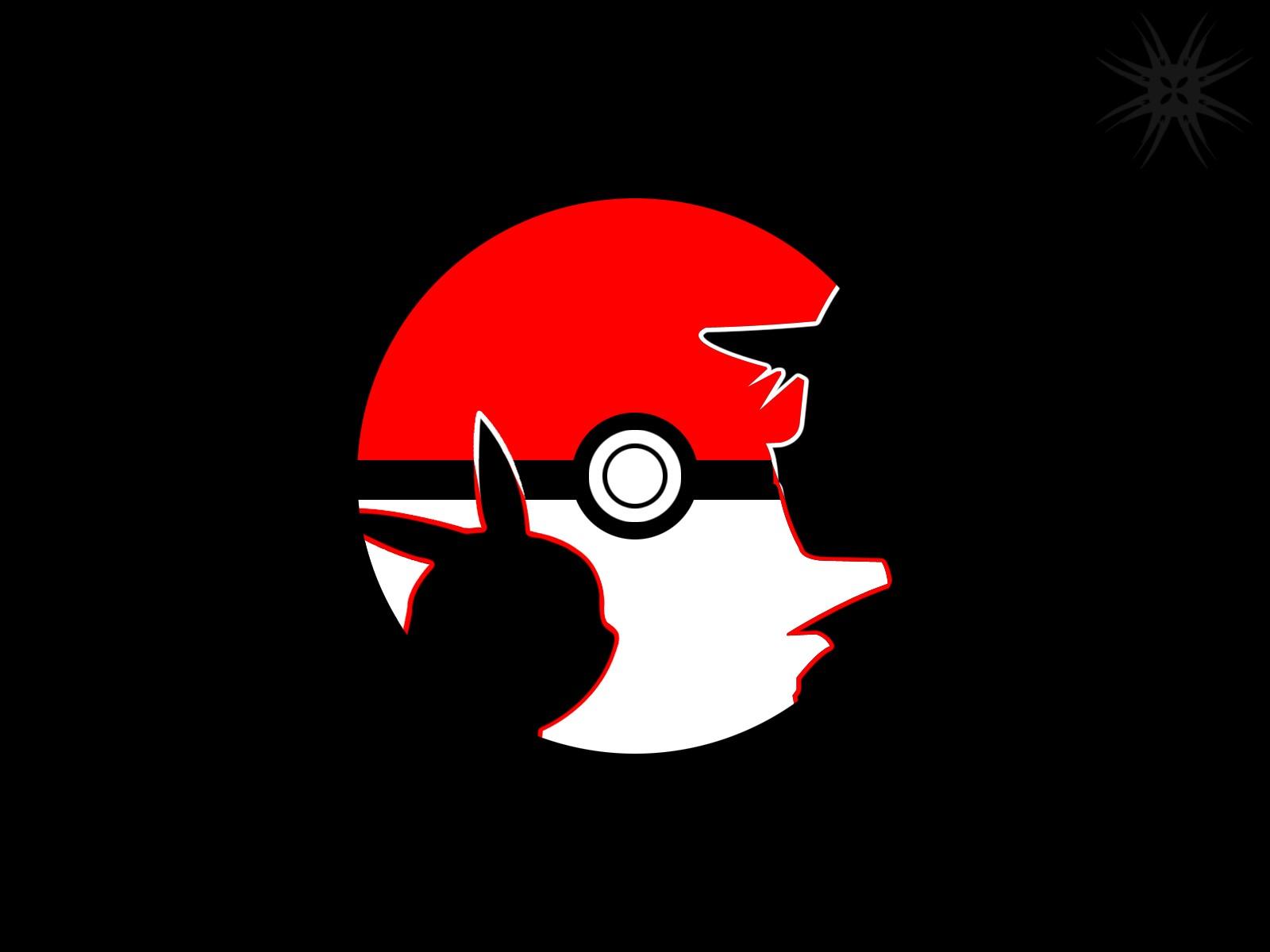 Pokemon Black Wallpaper 1600x1200 Pokemon Black Red White Pikachu 1600x1200