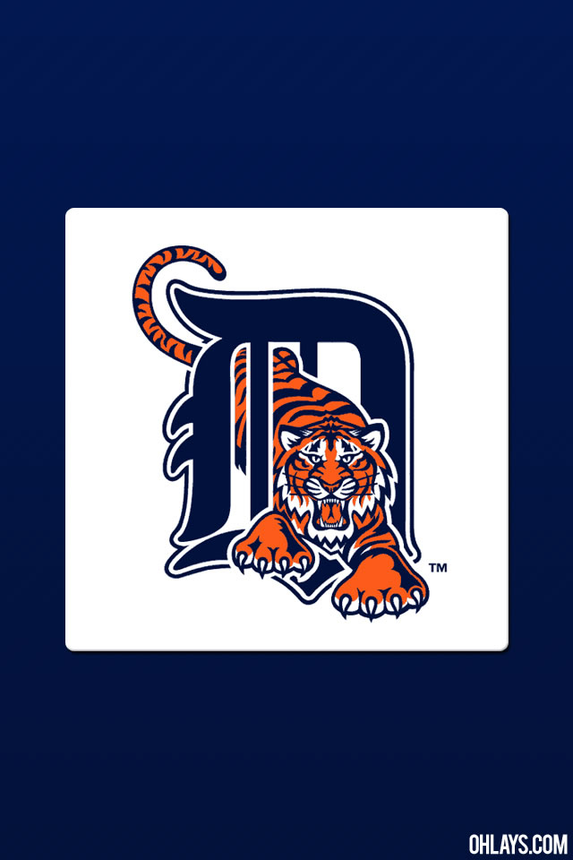 Detroit Tigers iPhone Wallpaper 759 ohLays 640x960