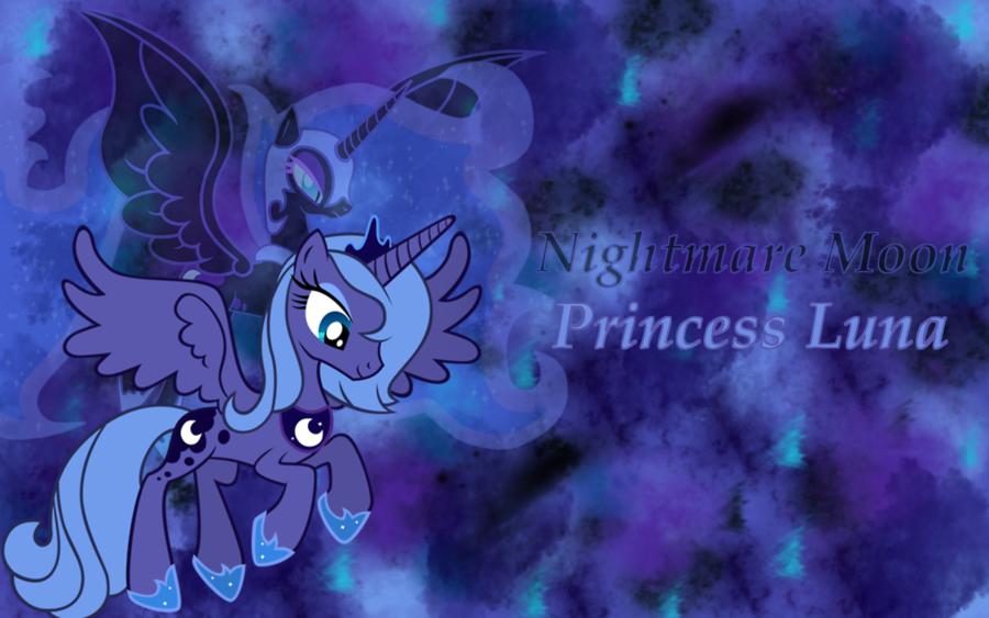 Luna Nightmare Moon Wallpaper by animegirl1429 900x563