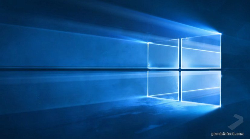 Microsoft Windows 10 Wallpaper Official