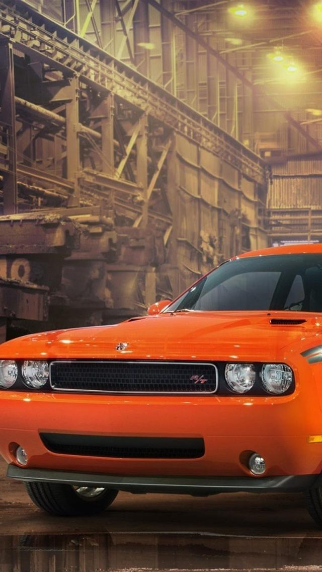 Dodge Challenger RT iphone 5 wallpaper hd 640x1136