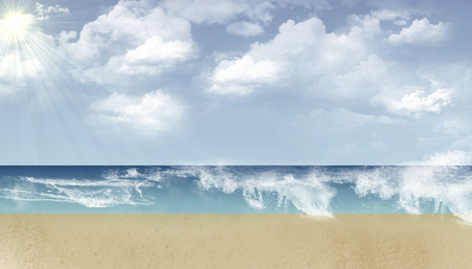 Background Summer Beach by ECVcm on deviantART 1600x914