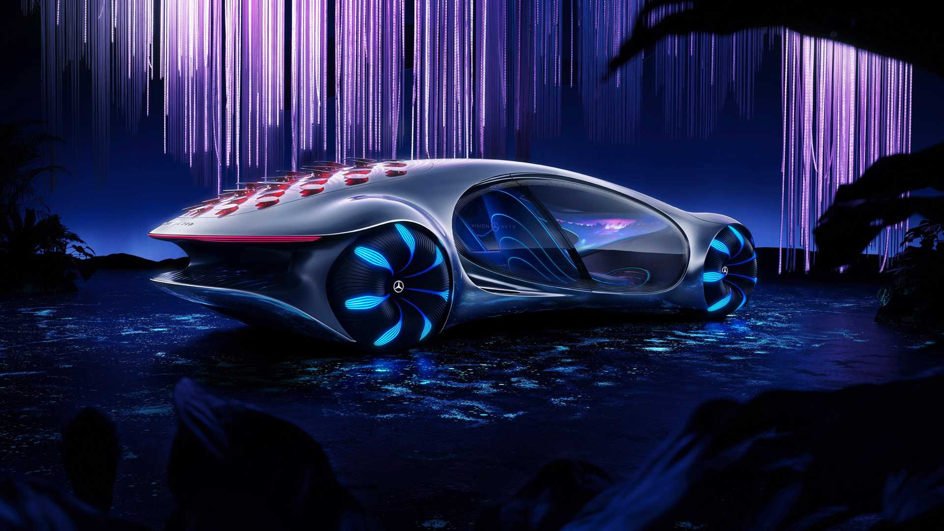 2020 CES Mercedes Benz Showcases Their Concept Vision AVTR In 1920x1080