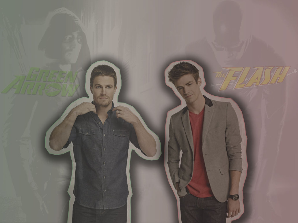 Barry Allen and Oliver Queen by BloodyLullaby95 1032x774