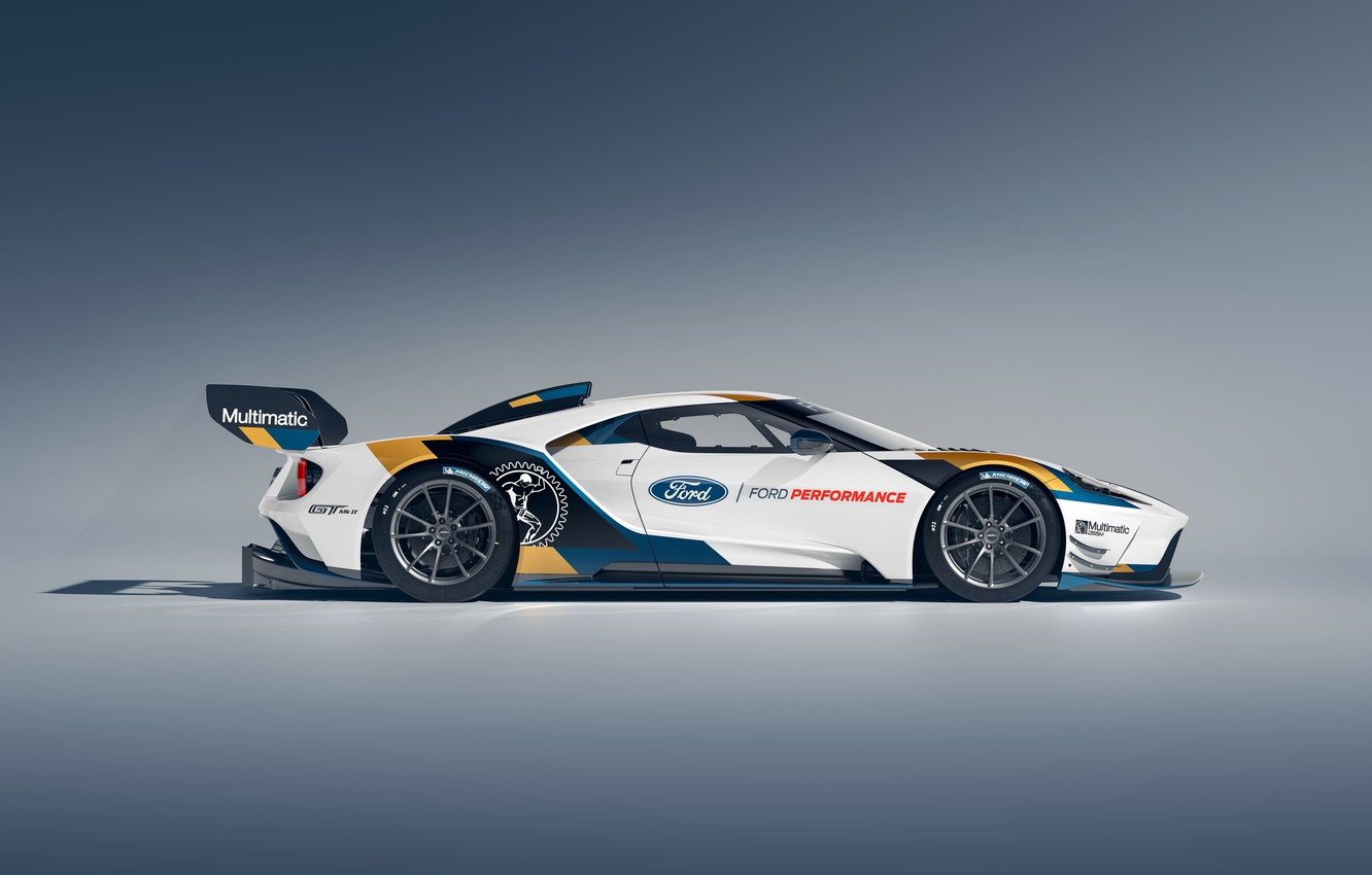 Wallpaper Ford Ford GT side view Mk II 2019 images for desktop 1332x850