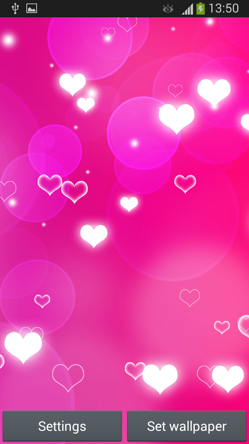 Download Pink Heart Live Wallpaper for because heart pictures are 506x900