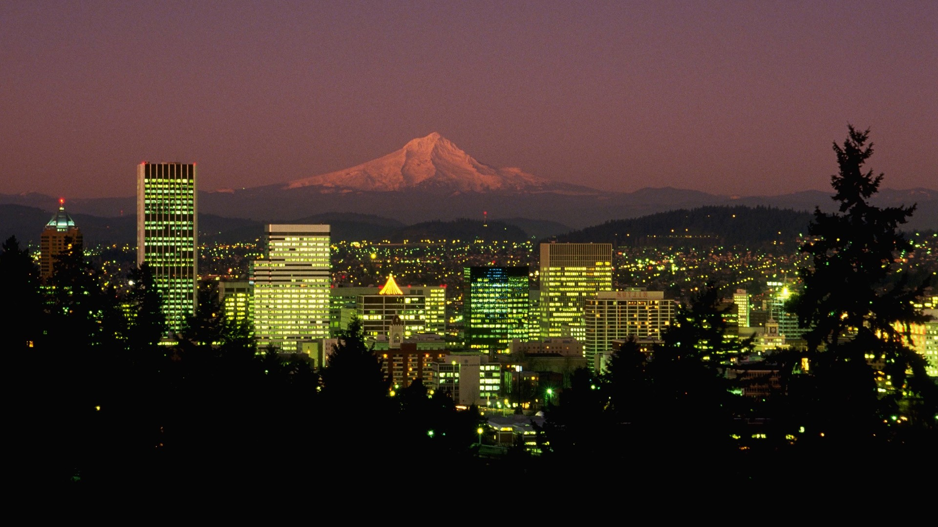 Portland Oregon Desktop Wallpaper Wallpapersafari