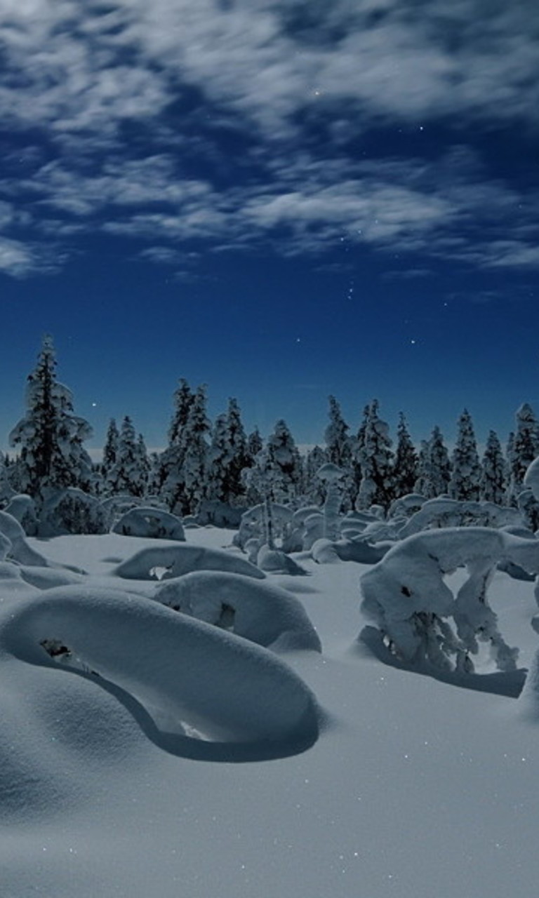 Lapland Finland Wallpaper for Nokia Lumia 928 768x1280