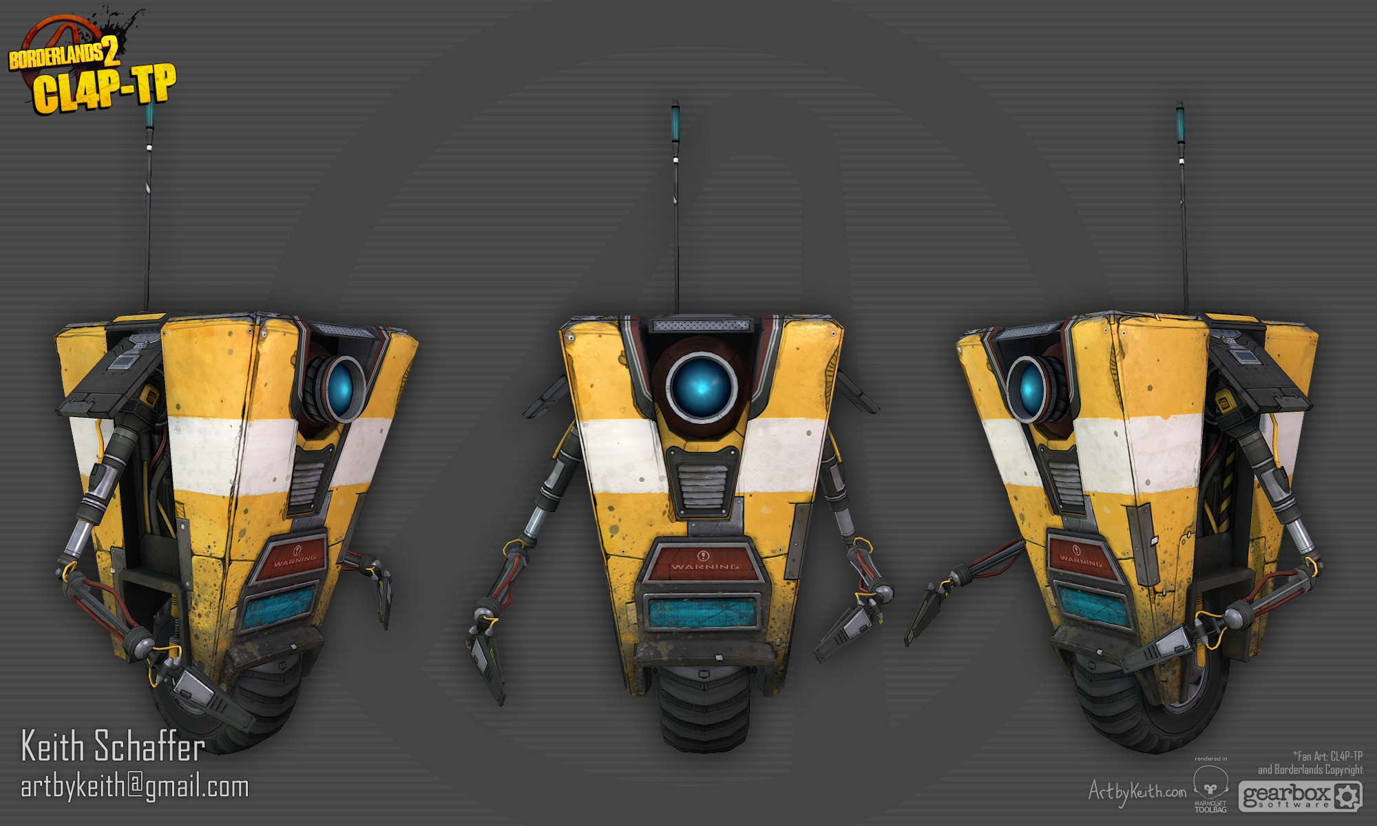 call him Claptrap At least they would if he had any friends 2000x1200